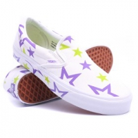 Купить Слипоны VANS Classic Slip-On True White/Passion Flower 1027891