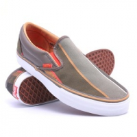 Купить Слипоны VANS Classic Slip-On Lx Maharam Classic Stripe Major Brown/Fiesta 1027840